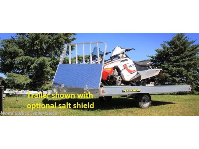 2019 Aluma 8.5' X 12' ALUMINUM SNOW/ATV TRAILER