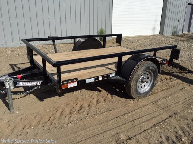 2018 Diamond C 5' X 8' UTILITY SINGLE 3500# AXLE
