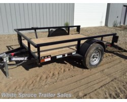 #2PSAL8-200128 - 2018 Diamond C 5' X 8' UTILITY SINGLE 3500# AXLE