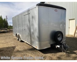 #USED-460279 - 2017 Cargo Mate  8.5' X 20' CARGO TRAILER 10K W/ RAMP