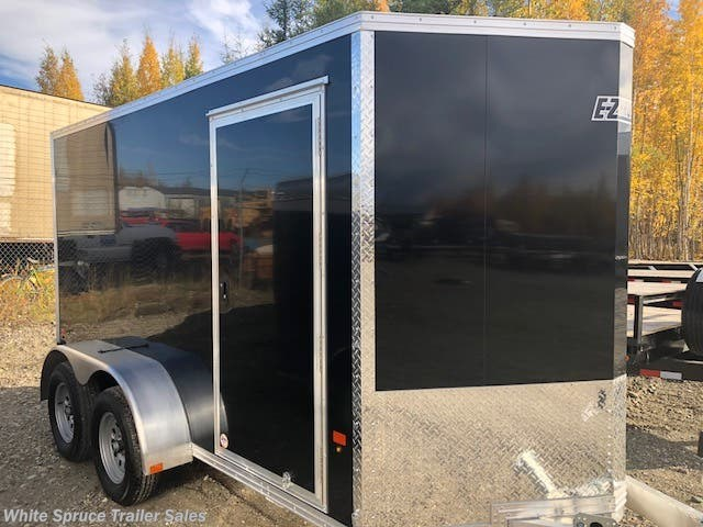 2018 Mission Trailers 6' X 12' X 6' ALL ALUMINUM ENCLOSED 7K