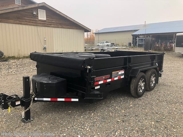 2018 Midsota 14' HD 15,400 GVWR DUMP DECKED OUT