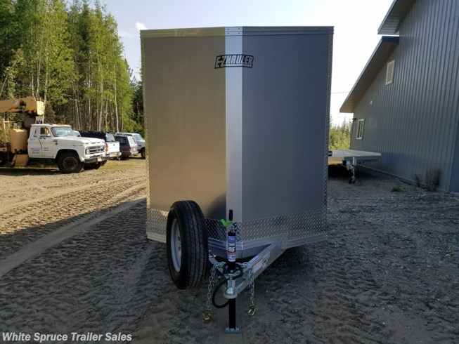 "2019 Mission Trailers 6' X 10' X 6'2"" ALL ALUMINUM ENCLOSED 3K"