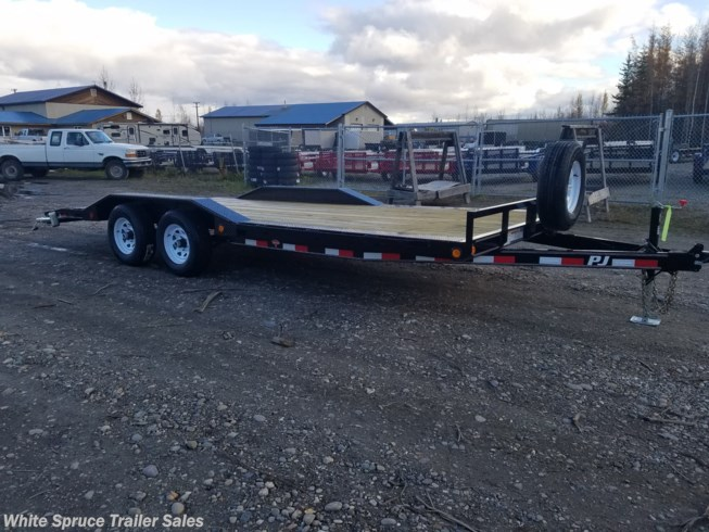"2019 PJ Trailers 8'6"" X 20' DRIVE OVER FENDER 10K"