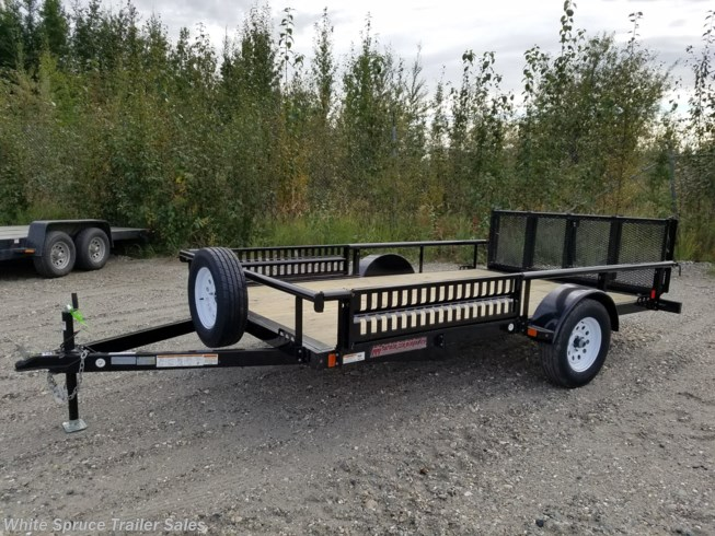 "2018 Midsota 83"" X 14' UTILITY WITH SIDE RAIL RAMPS"