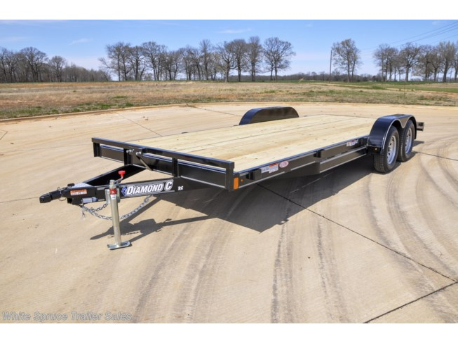 2019 Diamond C 18' Car Hauler, 7K with dovetail