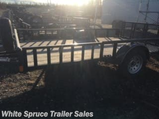 "2012 Diamond C 83"" X 12' UTILITY WITH SIDE LOAD"