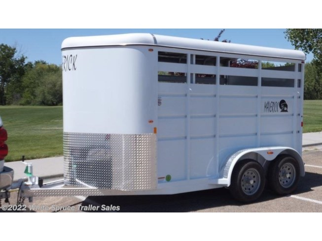 2018 Maverick 2 Horse 13' Steel Horse Trailer