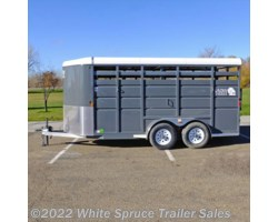 #MAV12Stock - 2018 Maverick 12' Steel Stock Trailer