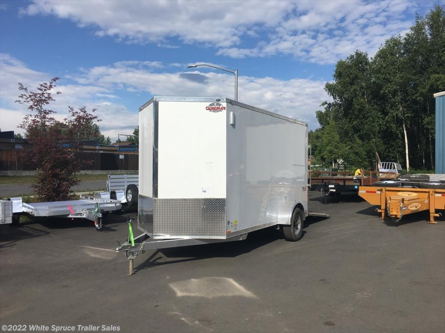 "2017 Cargo Mate  6' X 12' X 6'4"" ALL ALUMINUM ENCLOSED"