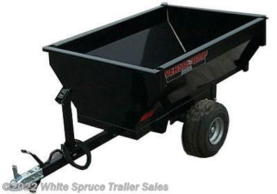 2018 Midsota 4' x 5' Mini Dump Trailer