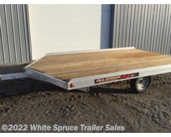 #861213-70080 - 2018 Aluma 8.5' X 12' ALUMINUM SNOW/ATV TRAILER