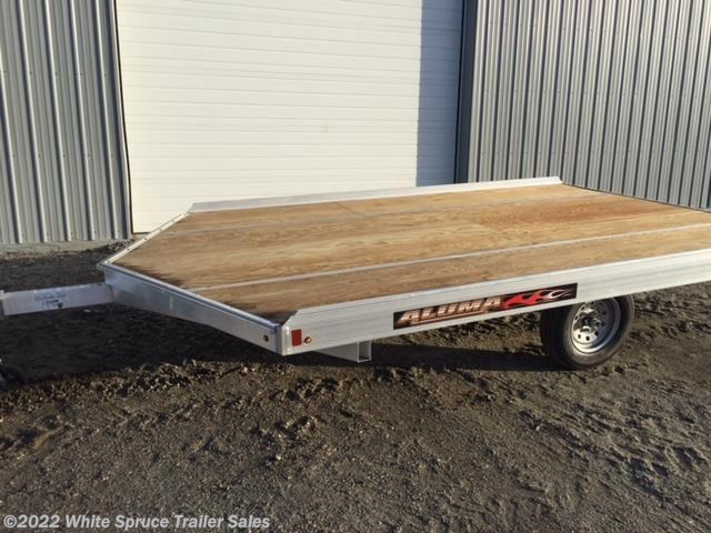 2018 Aluma 8.5' X 12' ALUMINUM SNOW/ATV TRAILER