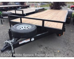 "#CT20-50721 - 2018 C&B 6'10"" x 20' Equipment Trailer 10K"