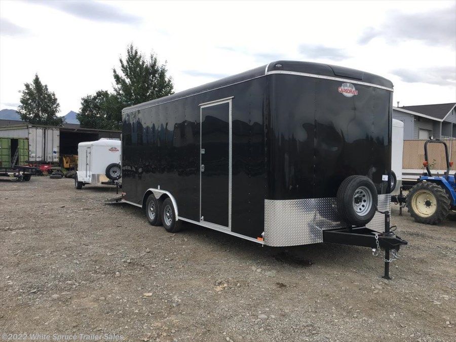 "2018 Cargo Mate  8.5' X 20' X 7'7"" ENCLOSED W/ RAMP 10K"