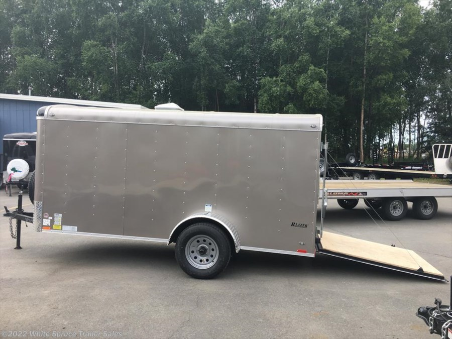 "2018 Cargo Mate  5' X 12' X 5'4"" ENCLOSED TRAILER W/ RAMP"