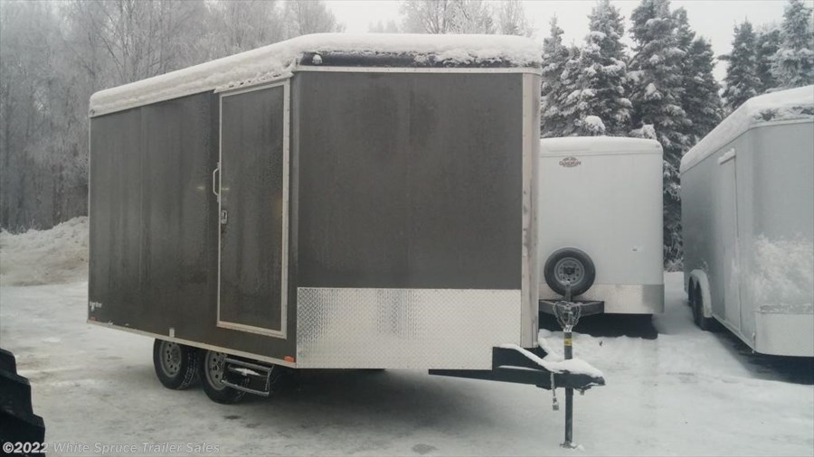 2018 Cargo Mate  8.5' X 17' ENCLOSED SNOW TRAILER, 7K
