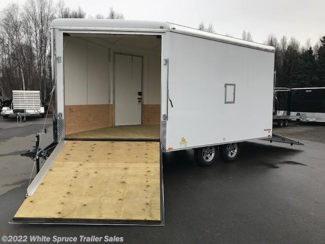 2018 Cargo Mate  8.5' X 19' ENCLOSED SNOW TRAILER, 7K
