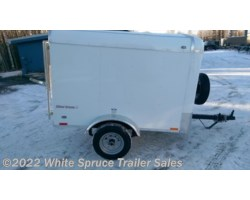 #SD46-467342 - 2018 Cargo Mate  4' X 6' SINGLE AXLE CARGO TRAILER