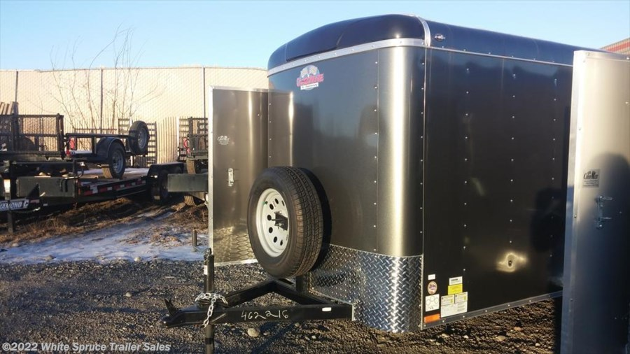 "2018 Cargo Mate  5' X 8' X 5'4"" ENCLOSED TRAILER W/ RAMP"