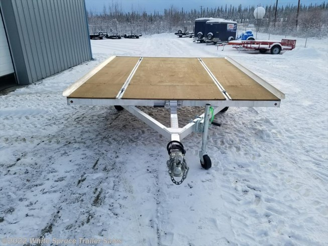 "2018 Mission Trailers 8'6"" X 10' 3500# TILT ALL ALUMINUM"