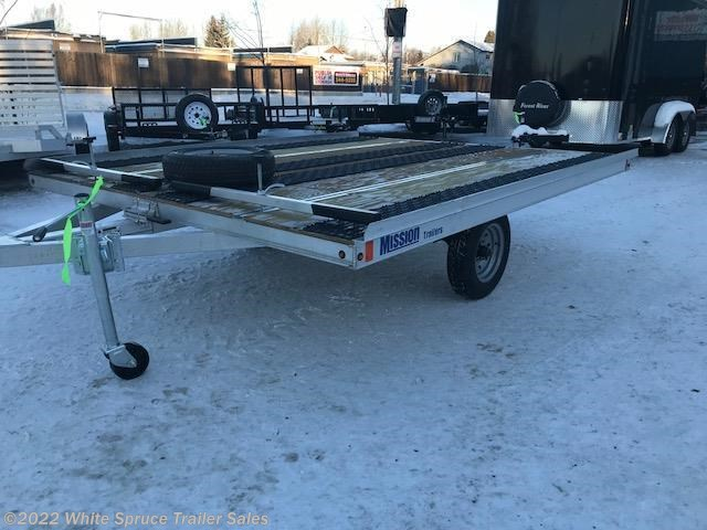 "2018 Mission Trailers 8'6"" X 10' 3500# TILT ALL ALUMINUM-GLIDE"