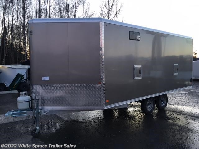 2018 Mission Trailers 8.5' X 23' TOY HAULER HEAT & INS