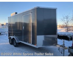 "#EHWA714TA2-800656 - 2018 Cargo Mate  7' X 14' X 6'1"" ALL ALUMINUM ENCLOSED"
