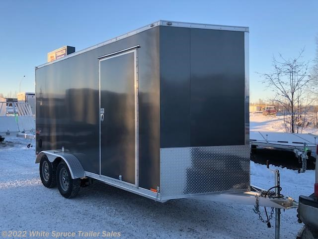 "2018 Cargo Mate  7' X 14' X 6'1"" ALL ALUMINUM ENCLOSED"
