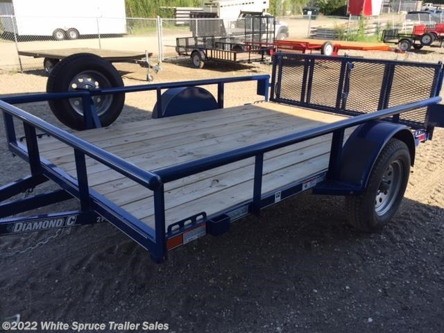 "2018 Diamond C 83"" X 14' UTILITY W/ PIPE RAILS"