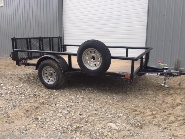"2018 Diamond C 83"" X 14' UTILITY WITH PIPE RAILS"