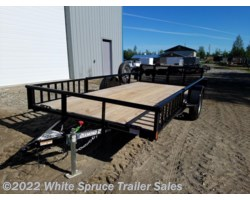 "#2PSAL14Q-96888 - 2018 Diamond C 83"" X 14' UTILITY W/ SIDE LOADING RAMPS"