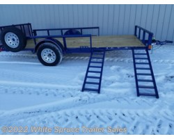 "#2PSAL14Q-96917 - 2018 Diamond C 83"" X 14' UTILITY W/ SIDE LOADING RAMPS"