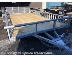 "#2PSAL14Q-96918 - 2018 Diamond C 83"" X 14' UTILITY W/ SIDE LOADING RAMPS"