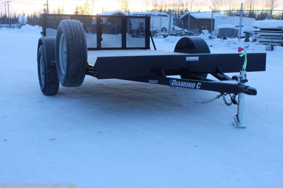 "2018 Diamond C 6'5"" X 14' UTV TRAILER W/ 3500# AXLE"