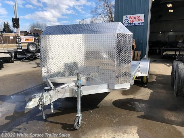 "2019 Aluma 78"" X 16' ALL ALUMINUM CAR W/ AIR DAM"