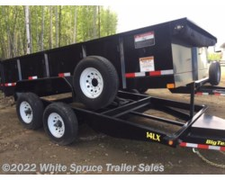 "#DMP14LX-17420 - 2018 Big Tex 83"" x 14' Low Profile Dump Trailer, 14K"