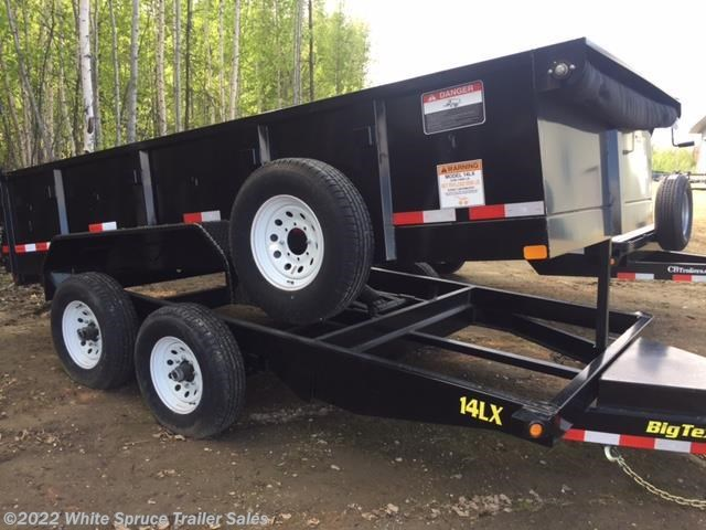 "2018 Big Tex 83"" x 14' Low Profile Dump Trailer, 14K"