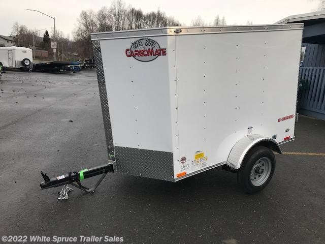 2018 Cargo Mate  4' X 6' SINGLE AXLE CARGO TRAILER
