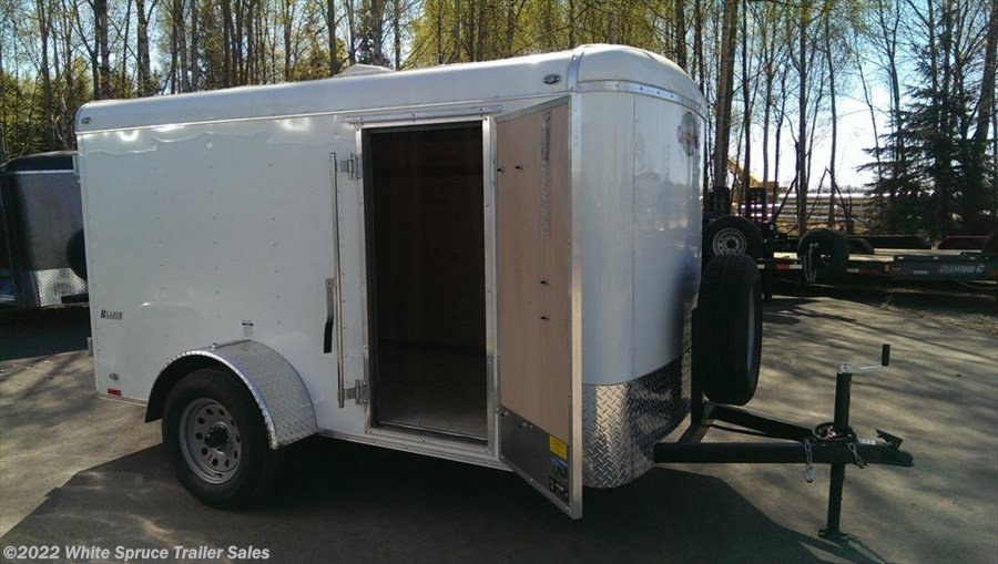 "2018 Cargo Mate  5' X 10' X 5'4"" ENCLOSED TRAILER W/ BARN"