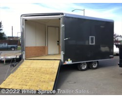 #SB8521TA3-470250 - 2018 Cargo Mate  8.5' X 21' ENCLOSED SNOW TRAILER, 10K