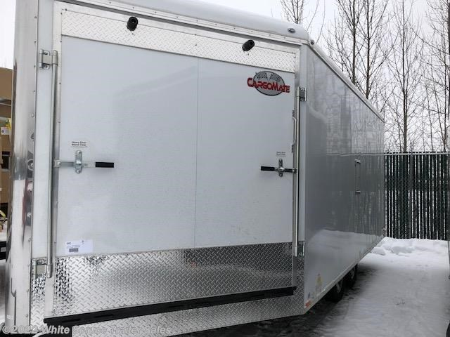 2018 Cargo Mate  8.5' X 21' ENCLOSED SNOW TRAILER, 7K