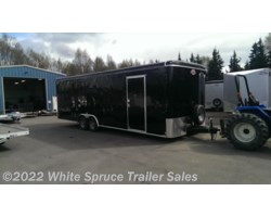 "#BL826TA3-470261 - 2018 Cargo Mate  8.5' X 26' X 7'7"" ENCLOSED CAR HAULER PKG"