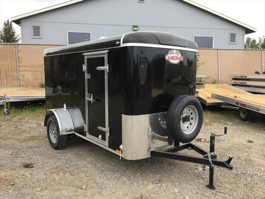 "2018 Cargo Mate  5' X 8' X 5'4"" ENCLOSED CARGO W/ BARN"