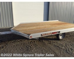 #861213-70085 - 2018 Aluma 8.5' X 12' ALUMINUM SNOW/ATV TRAILER
