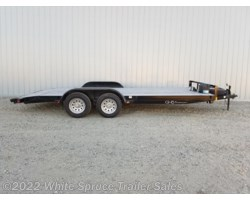 #COM18-52221 - 2018 C&B 18' Car Hauler with Dovetail 7K Trailer