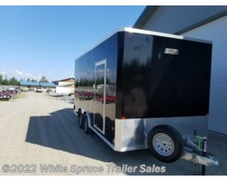 #EZEC816-14837 - 2017 Mission Trailers 8' X 16' X 7' ALL ALUMINUM ENCLOSED 7K