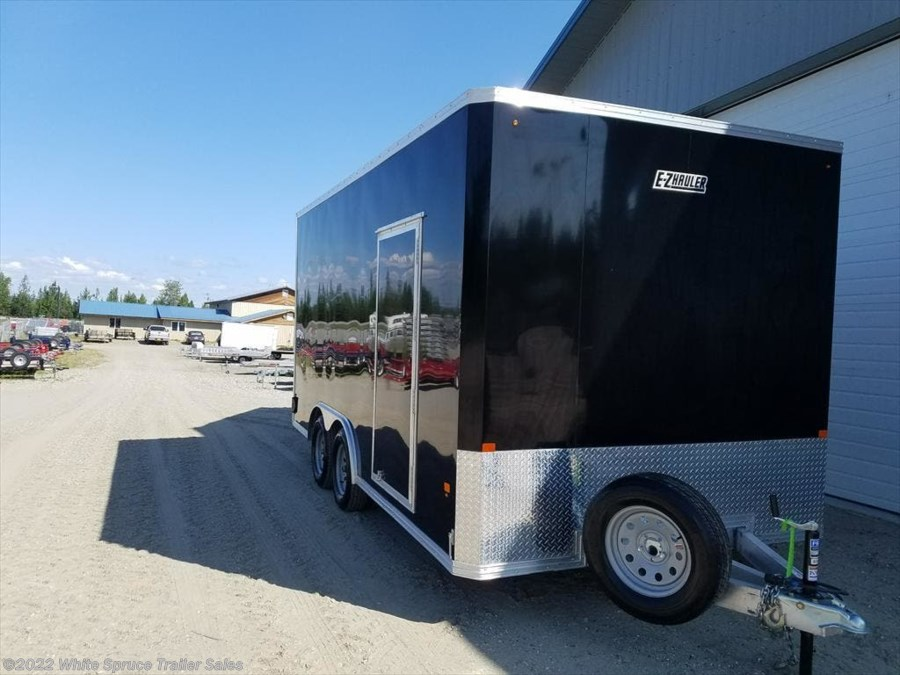 2017 Mission Trailers 8' X 16' X 7' ALL ALUMINUM ENCLOSED 7K