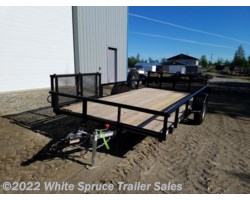"#2PSAL14BF-97299 - 2018 Diamond C 83"" X 14' UTILITY W/ BI-FOLD SIDE GATE"
