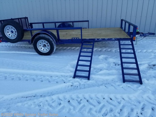 "2018 Diamond C 83"" X 14' UTILITY W/ SIDE LOADING RAMPS"